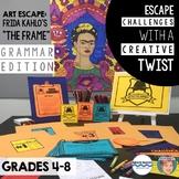 "Art Escape (Grammar Edition): Frida Kahlo ""The Frame"" | Escape Room Activity"