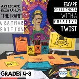 Art Escape (Grammar Edition): Frida Kahlo - Fun Hispanic Heritage Month Activity