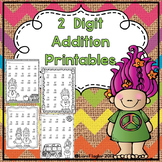 2 digit Addition with Regrouping Printables