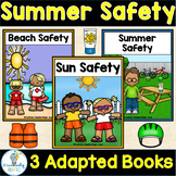 Summer Safety Adapted Book (3 Book Set)