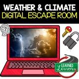 Weather & Climate Digital Escape Room, Breakout Room Activities, No Prep