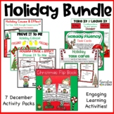 Christmas Holiday Bundle of Activities For December