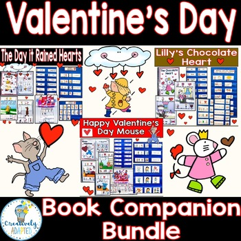 Valentine's Day Adapted Book Companion Bundle