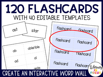 Root Words, Prefixes, and Suffixes Word Wall and Flashcards