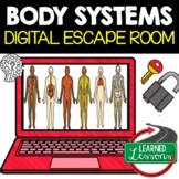 Body Systems Digital Escape Room, Body Systems Activity Pages