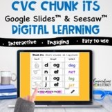Digital CVC Short Vowel Phonics Word Work Activities | Goo