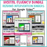 Digital Fluency Activities & Passages Intervention Bundle
