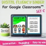 Digital Reading Intervention Fluency Activity & Passages f