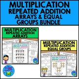 Multiplication Repeated Addition Arrays and Equal Groups | Distance Learning