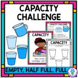 Capacity Hands On Activity   Full, Empty, Half Empty   Dis