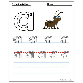 Alphabet Letter Tracing Bundle