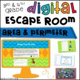 Digital Escape Room: Area & Perimeter Math Activities