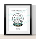 50 % Off Christmas Coloring Book w Bonus Ornament coloring page