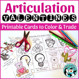 Printable Articulation Valentines