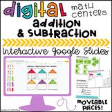 Digital Math Centers: Addition & Subtraction Activities