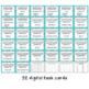 Digital Task Cards for Google Classroom™: Properties of Multiplication