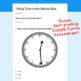 Digital Task Cards for Google Classroom™: Telling Time to the Minute
