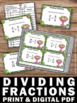 Dividing Fractions Task Cards 5th or 6th Grade Math Games