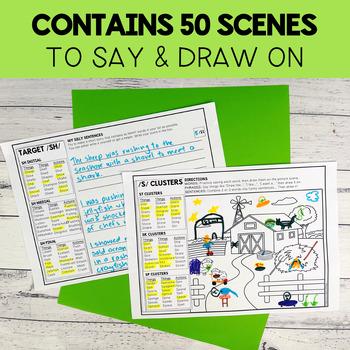 Draw Me: Articulation Sentences & Stories