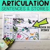 Draw Me: Articulation Sentences & Stories