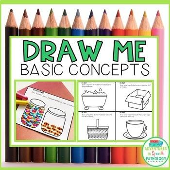 Draw Me Basic Concepts (No Prep) Mini Books