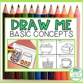 Draw Me Basic Concepts (No Prep) Mini Books