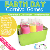 Earth Day Activities - Create a Carnival Game Project Activity