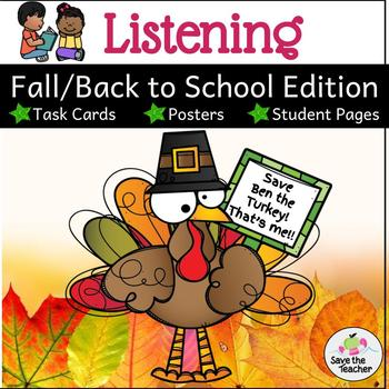 Fall and Thanksgiving: Listening Activities