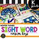 Kindergarten Sight Word Color by Code Winter Activities