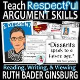 Ruth Bader Ginsburg   Critical Thinking Skills   Women's History