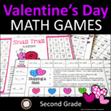Valentine's Day Math Games for Second Grade