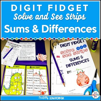 Addition and Subtraction Within 20 -Solve & See Strips
