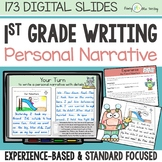 First Grade NARRATIVE WRITING Unit Classroom and Distance