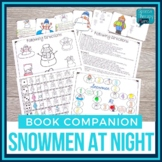 Snowmen At Night Book Companion: Speech and Language Activities