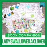 There Was An Old Lady Who Swallowed A Clover Book Companion