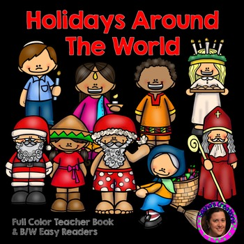 Holidays Around the World Easy Reader & Famliy Project