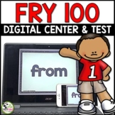 Fry Sight Words Test and Digital Literacy Centers for First 100 Fry Words