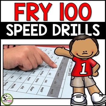 Fry Word Speed Drills For First 100 Fry Sight Words!