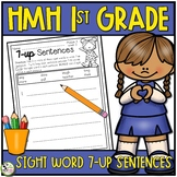 HMH Into Reading 7-up Sentence Writing Sight Word Center 1st Grade 2020