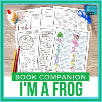 I'm A Frog Book Companion