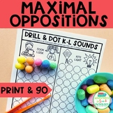 Maximal Oppositions - Print & Go