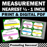 Measuring Length Activities, Standard Measurement Task Cards