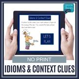 No Print Idioms & Context Clues | Speech Therapy | Figurat