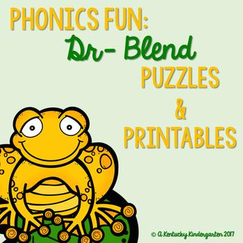 Phonics Fun: DR Blends