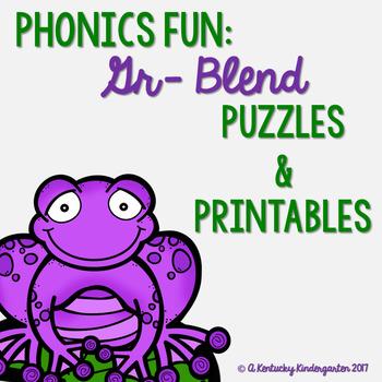 Phonics Fun: GR Blends