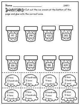 Place Value- 2nd Grade Standards