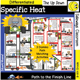 Specific Heat- Domino Path Matching Review -Path to Finish Line Series