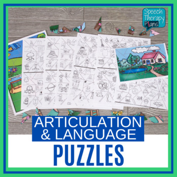 Speech and Language Activities - Puzzle