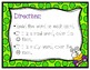 Spring Real vs. Silly Words Task Cards