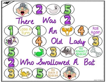 There Was An Old Lady Who Swallowed A Bat Book Companion